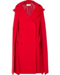 Antonio Berardi Cape Effect Wool And Mohair Blend Coat