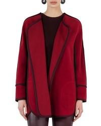 Akris Punto Wool Cashmere Cape Jacket