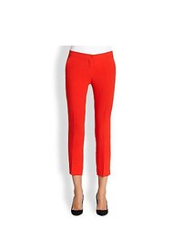 Etro Cady Capri Pants Red