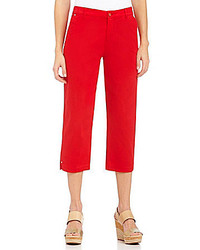 Intro claudia stretch sateen capri pants medium 175928