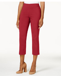 Style co pull on capri pants created for macys medium 6720735