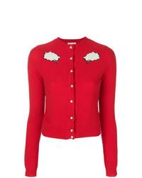 Olympia Le-Tan Bubble Cloud Buttoned Cardigan