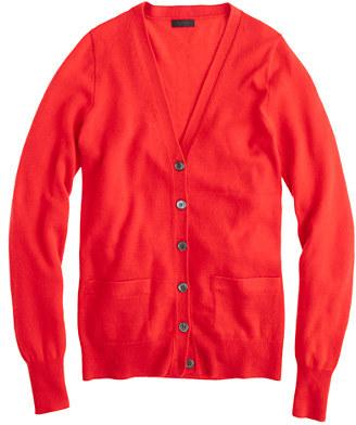 3198a1af8e7 $238, J.Crew Collection Cashmere Boyfriend Cardigan Sweater