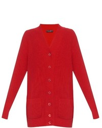 Dolce & Gabbana Long Sleeved Cashmere Knit Cardigan