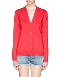 Tory Burch Madison Merino Wool Blend Cardigan