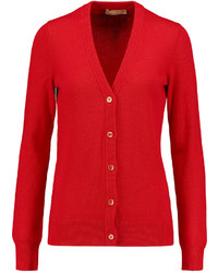 Michael Kors Michl Kors Collection Cashmere And Cotton Blend Cardigan