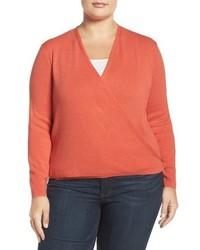 Nic+Zoe Plus Size 4 Way Three Quarter Sleeve Convertible Cardigan