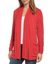 Ruched sleeve cardigan medium 5169698