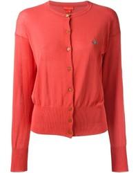 Vivienne Westwood Red Label Cropped Knit Orb Logo Top