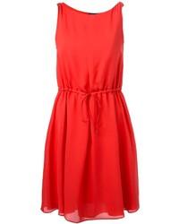 Emporio Armani Drawstring Waist Dress