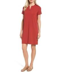 Mandarin collar t shirt dress medium 4470930