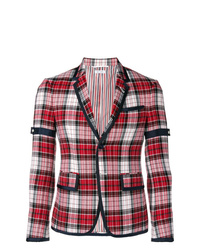 Thom Browne Armband Variegated Check Sport Coat