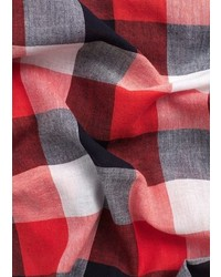 Check cotton scarf medium 5024089