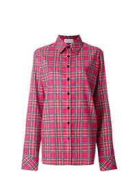 Oversized checked shirt medium 7801846