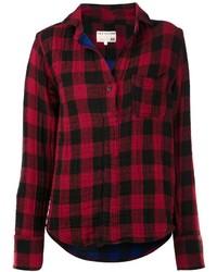 Rag bone buffalo check shirt medium 115778