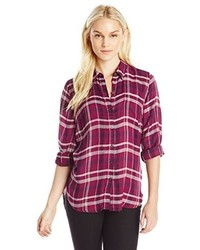 Bungalow flannel shirt medium 455504