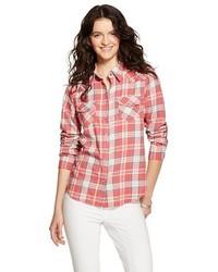 Vanilla Star Flannel Button Down Shirt