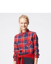Uniqlo Flannel Check Long Sleeve Shirt