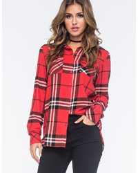 Volcom Love Me Not Flannel Shirt