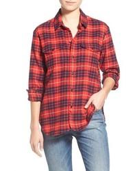 Madewell Cotton Flannel Work Shirt