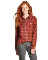 Mossimo Supply Co Flannel Plaid Shirt Mossimo Supply Cotm