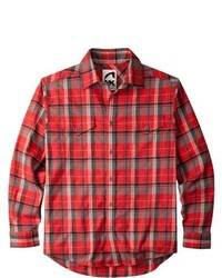 Peaks Mountain Khakis Flannel Shirt