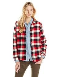 Woolrich Pemberton Fleece Lined Flannel Shirt Jacket