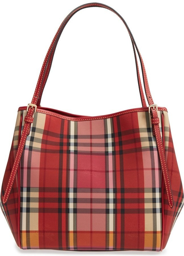 Burberry Handbag Red