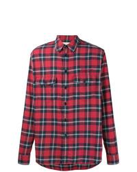 Gucci Check Printed Shirt