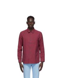 A.P.C. Red Check Jules Shirt
