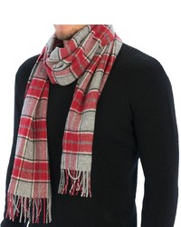 Johnstons of Elgin Simple Check Scarf Wool