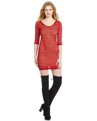 Chevron lace dress medium 1252977