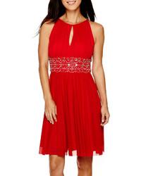 9d339107998 La Nouvelle Renaissance Sleeveless Beaded Waist Dress