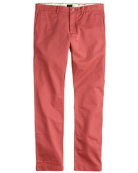 J.Crew 484 Slim Fit Pant In Broken In Chino
