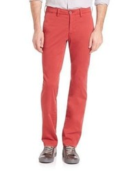 Saks Fifth Avenue Collection Stretch Cotton Chinos