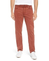 Fidelity Denim Jimmy Lumina Slim Straight Leg Twill Pants
