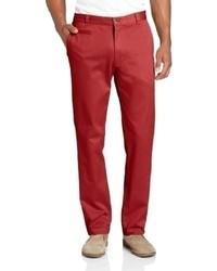 Louis Raphael Louis Raphl Slim Fit Flat Front Gart Dye Pant