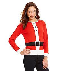 Nouveaux Santa Suit Christmas Sweater