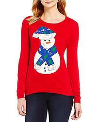 Nouveaux Snowman Christmas Sweater