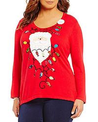 Berek Plus Santas Glow Christmas Sweater