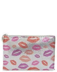 Kisses metallic clutch red medium 5361087