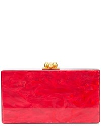 Cheap Best marbled effect clutch - Red Edie Parker Browse Cheap Online From China Sale Online Sale Cheap Online YpmYOBtLz