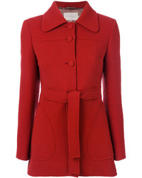 Belted fitted coat medium 5053133