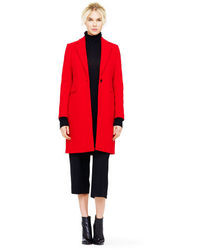 Club Monaco Selina Double Face Wool Coat