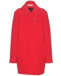 Balenciaga Embellished Wool Coat