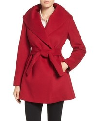 Trina Turk Emma Wool Blend Wrap Coat
