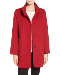 Fleurette Loro Piana Wool Car Coat