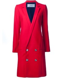 JULIEN DAVID Low Double Breasted Buttons Coat