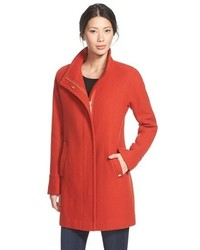 Petite wool blend stadium coat medium 366098