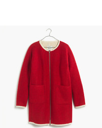 Madewell Sherpa Lined Cocoon Coat